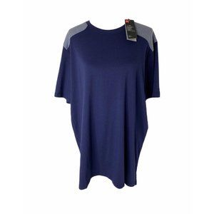 ~Men's size XL under armour blue and grey shirt